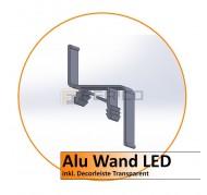 Alu Wandprofil LED - 2,0 m
