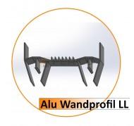 Alu Wandprofil LL-LED - 2,50 m