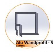 Alu Wandprofil-S - 2,0 m