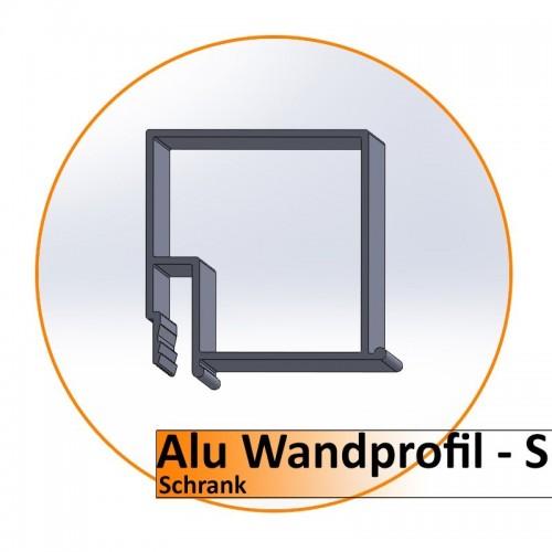 Alu Wandprofil-S