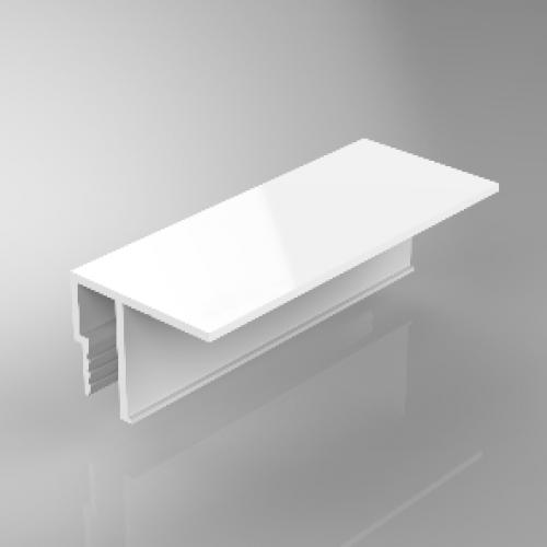 PVC Deckenprofil - GOTIKA - ohne Schattenfuge