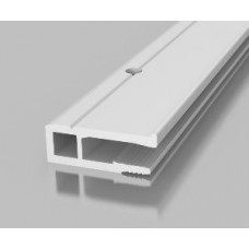 PVC Wandprofil -  GOTIKA gelocht- ohne Schattenfuge