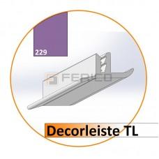 Decorleiste TL Farbe 229