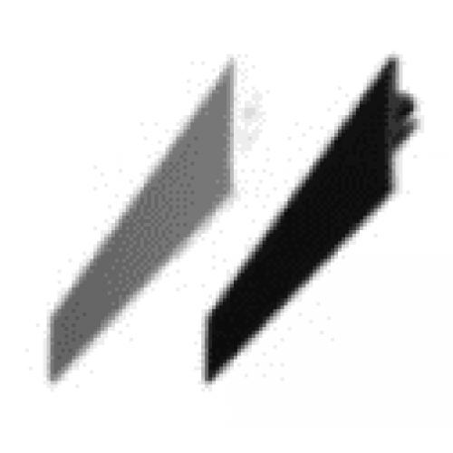 Abdeckleiste KS5 weiß für ST01, B01, SK01 Profile