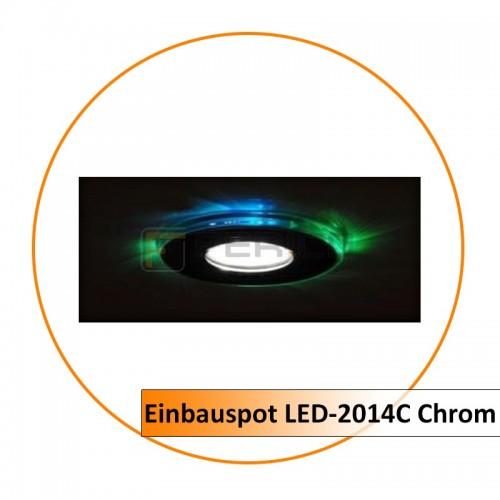 Einbauspot LED-2014C Chrom