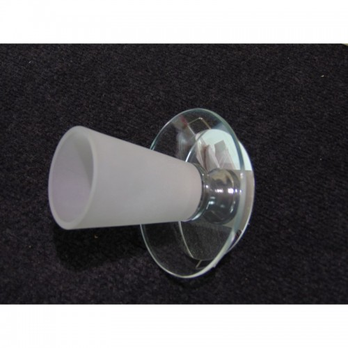Einbauspot G9010 Glas weiß