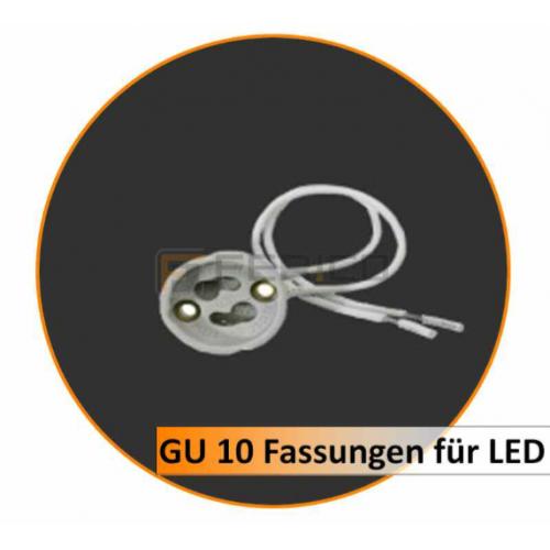 GU 10 Fassungen für LED