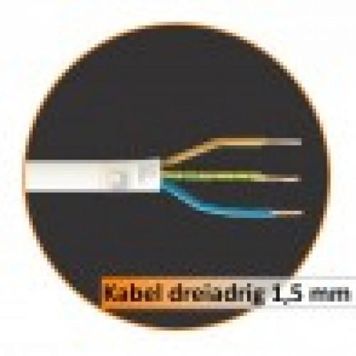 Kabel Dreiadrig 50 Lfm/Packung