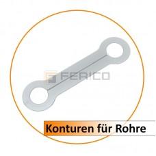 Konturen für Rohre 27 mm