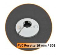 Rosetten PVC 16 mm 303