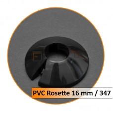 Rosetten PVC 16 mm 347