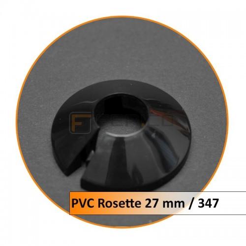 Rosetten PVC 27 mm 347