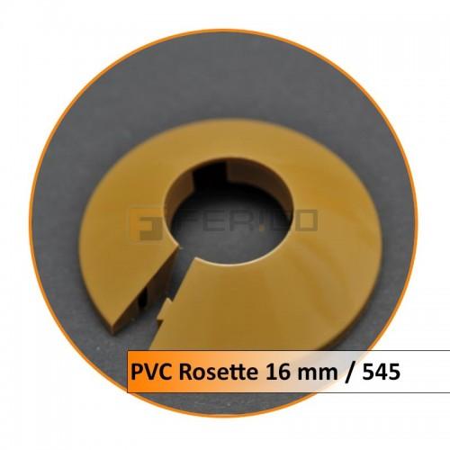 Rosetten PVC 16 mm 545