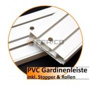 PVC Gardinenleiste – Ecke (2 stk. pro Pack.)