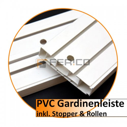 PVC Gardinenleiste – Verbinder