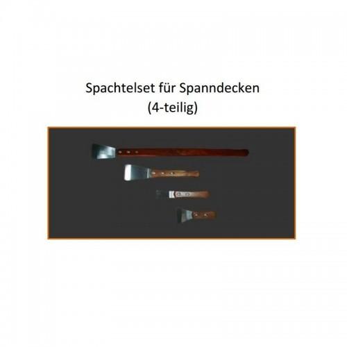 Spachtelset 4-teilig Griffl. 40/14,5/10/7 cm