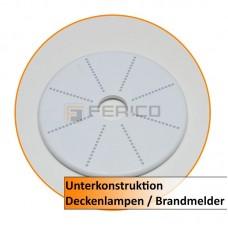 Unterkonstruktion für Deckenlampen / Brandmelder