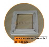 Unterkonstruktion Quadratisch 150 - 200
